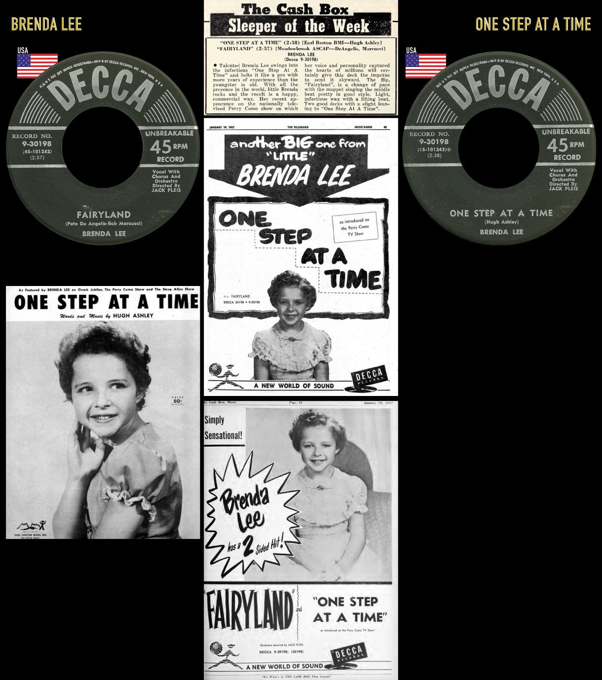 570302_Brenda Lee_One Step At A Time_Fairyland