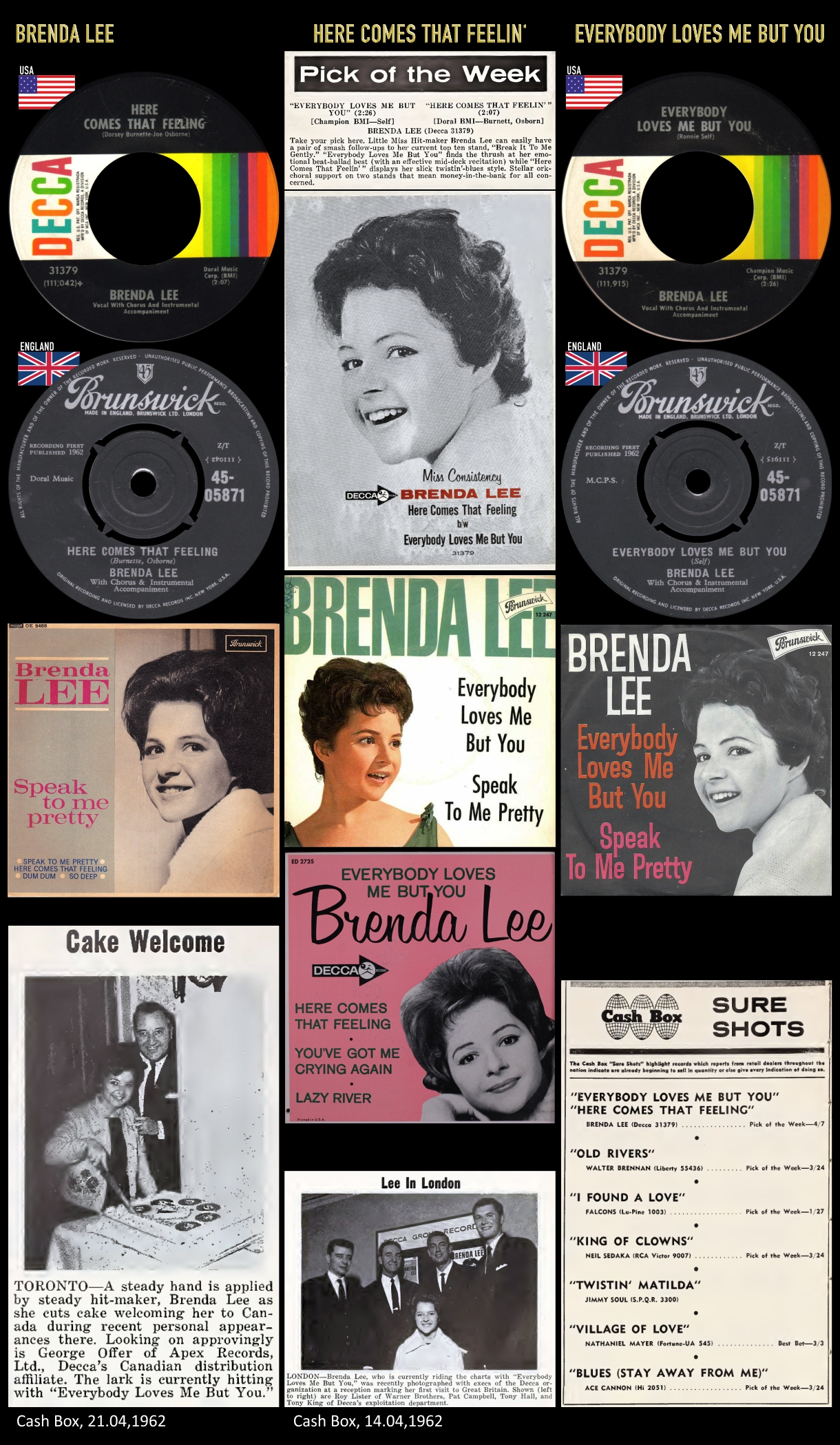 620428_Brenda Lee_Every Body Loves Me But You_Here Comes That Feelin'