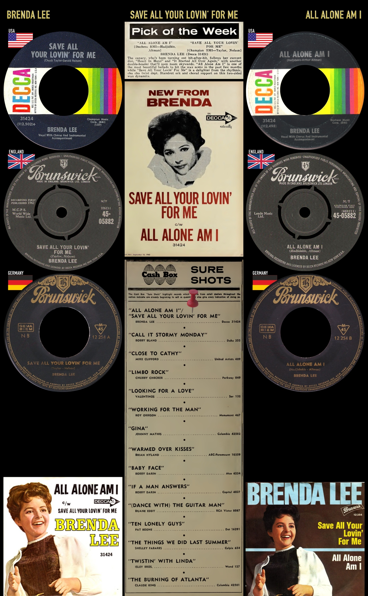 620929_Brenda Lee_All Alone Am I_Save All Your Lovin' For Me