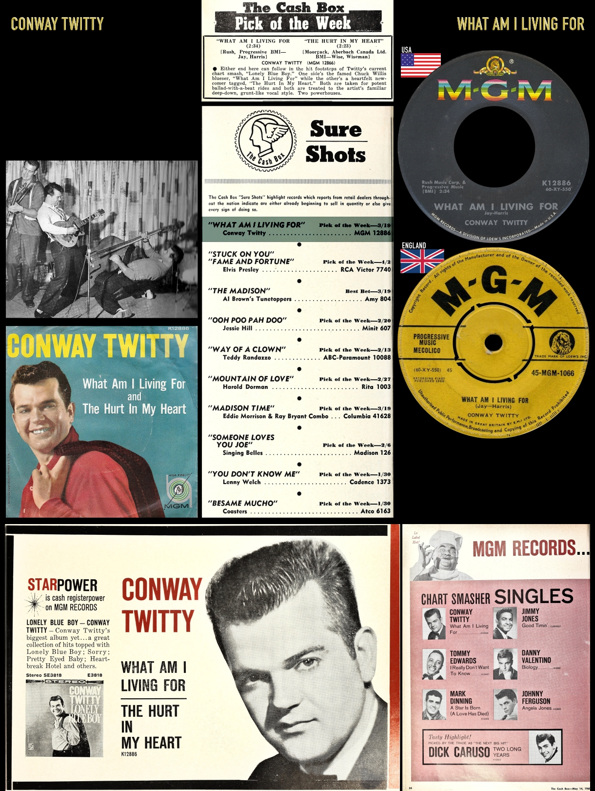 600326_Conway Twitty_What Am I Living You_#