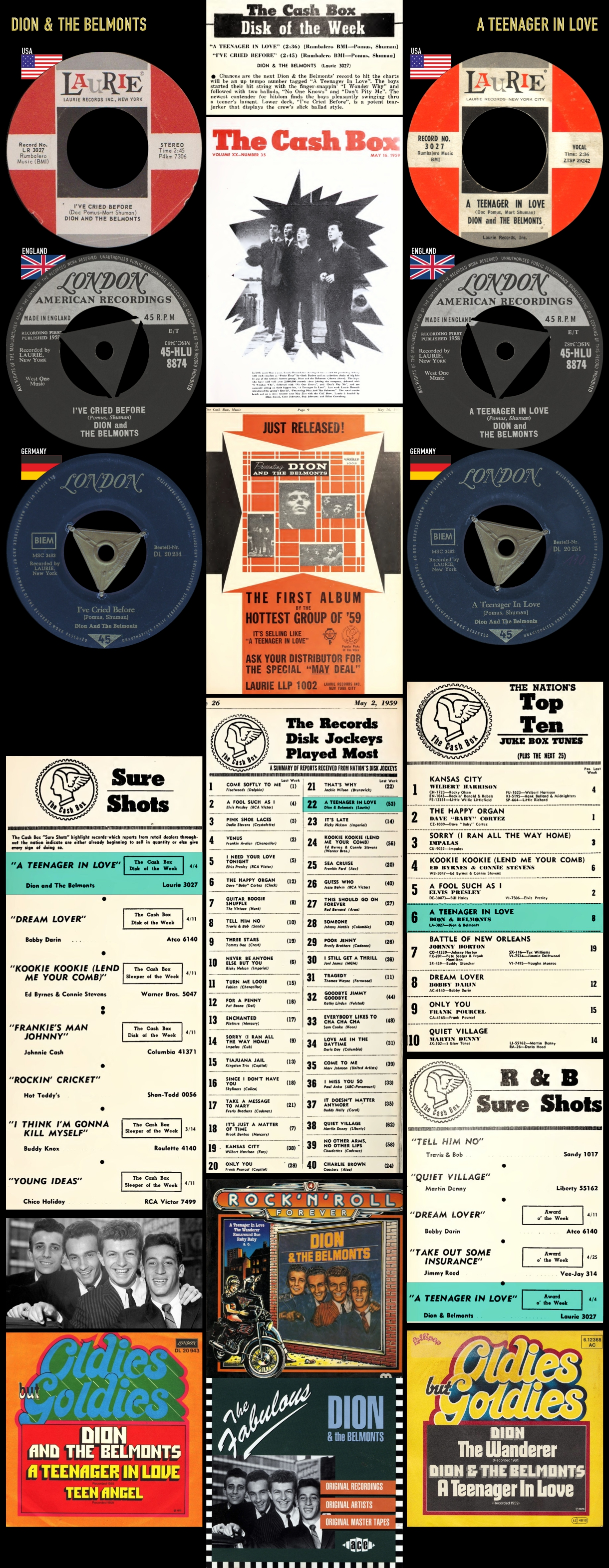 590418_Dion & The Belmonts_A Teenager In Love_I've Cried Before