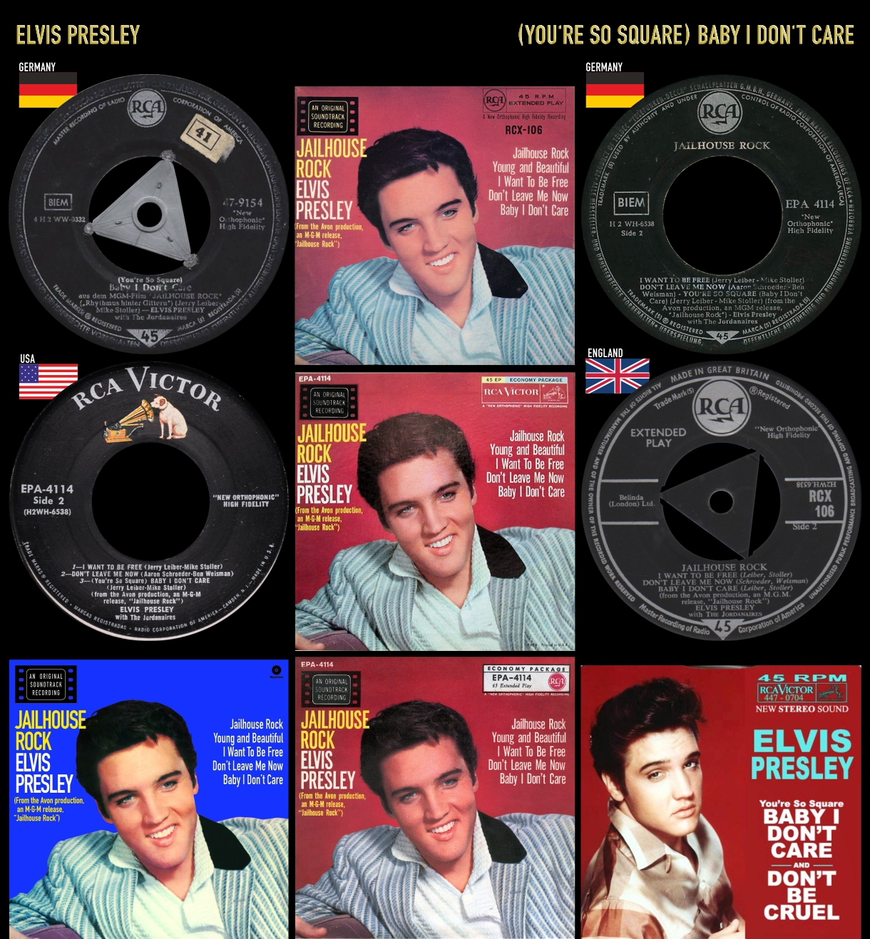 580118_Elvis Presley_Baby I Don't Care_#2
