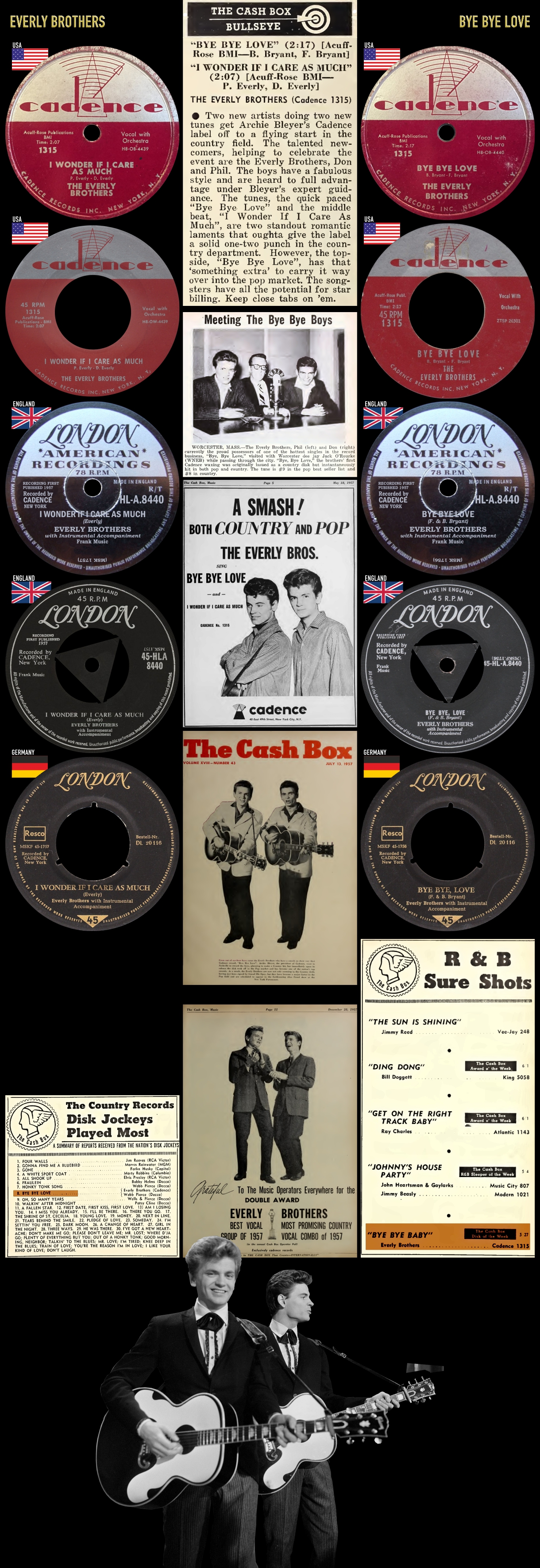 570525_Everly Brothers_Bye Bye Love_I Wonder If I Care As Much