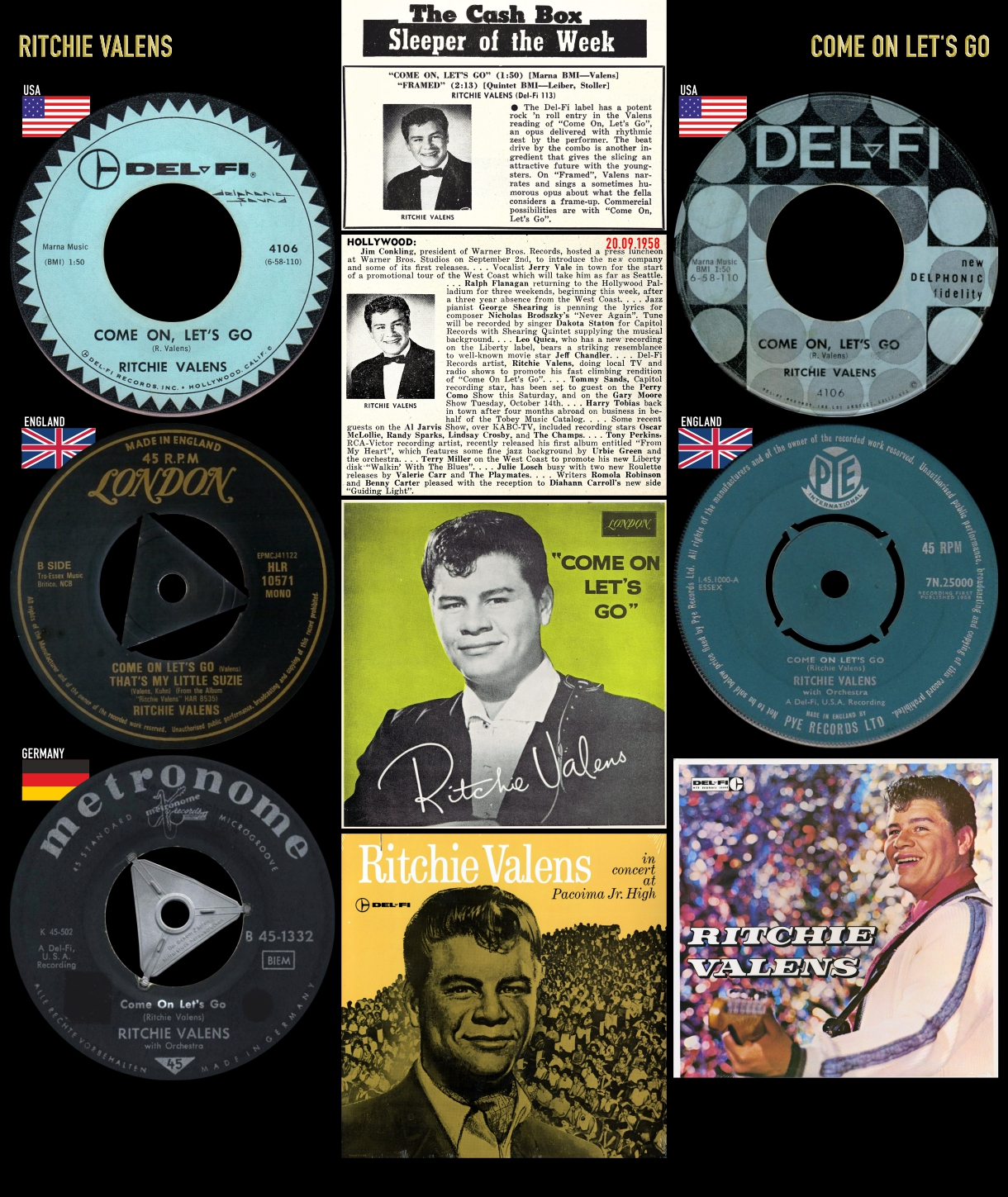 580920_Ritchie Valens_Come On Let's Go