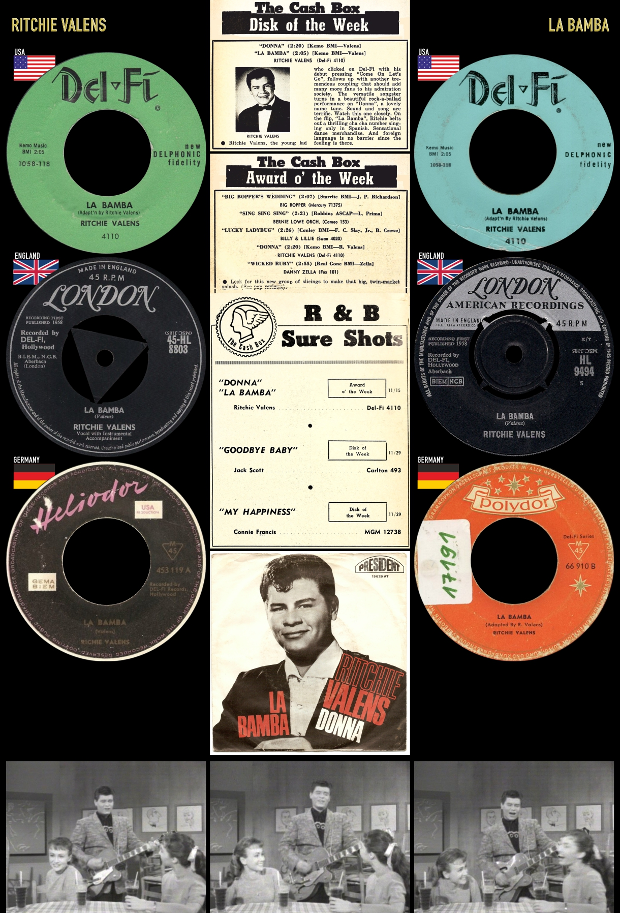 581227_Ritchie Valens_La Bamba_New