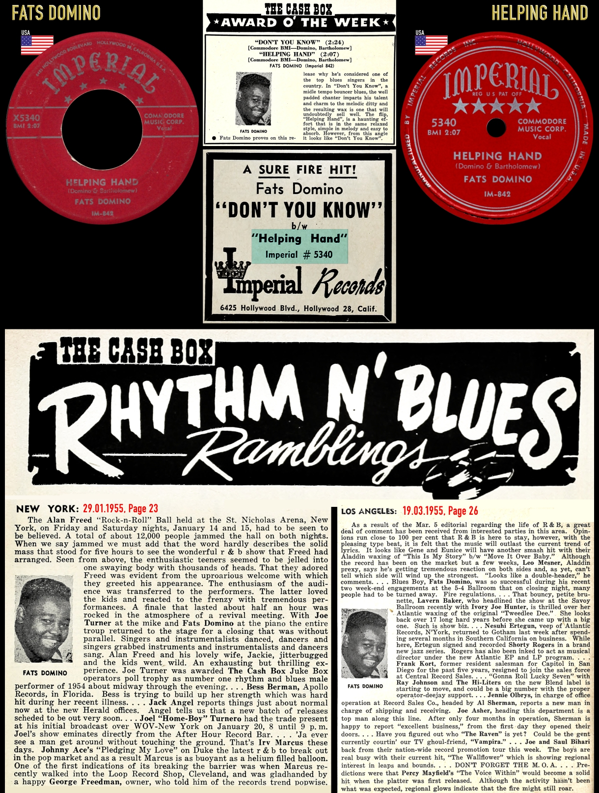 550127_Fats Domino_Helping Hand