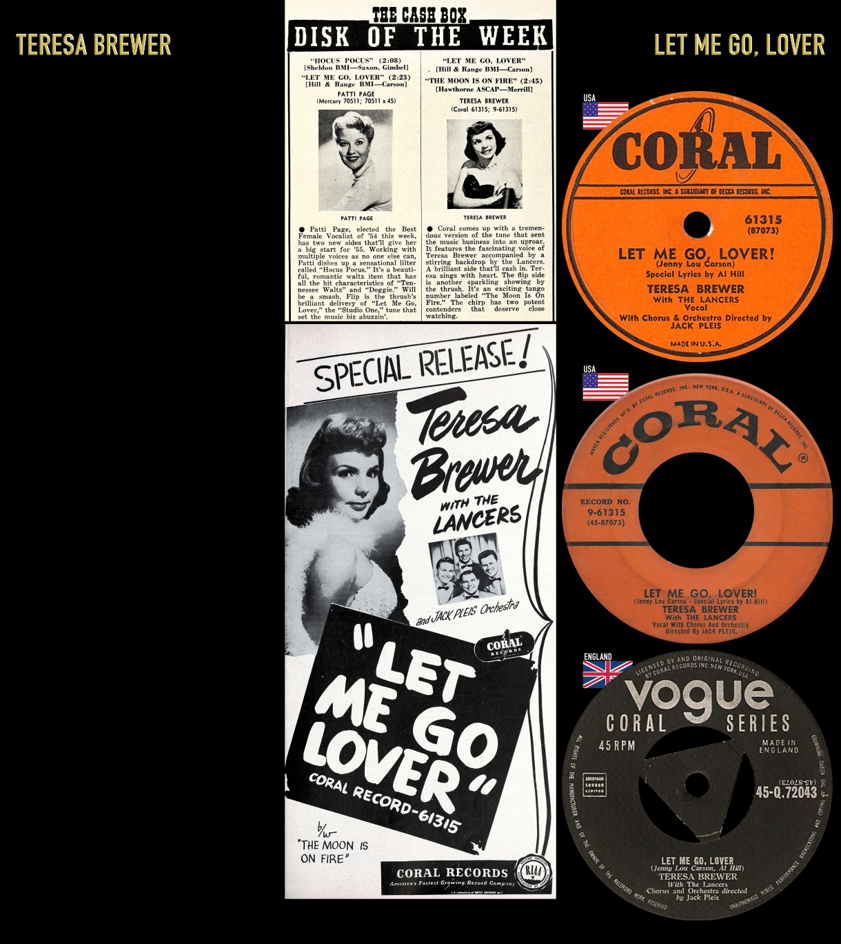 550212_Teresa Brewer_Let Me Go, Lover