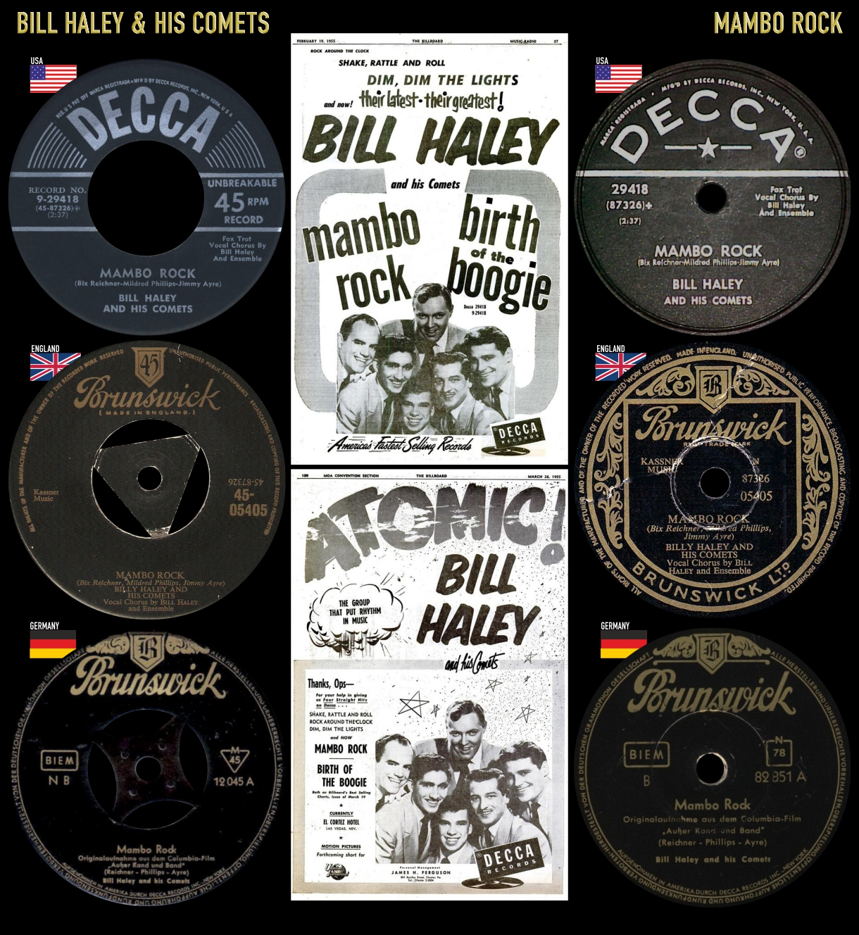 550305_Bill Haley_Mambo Rock