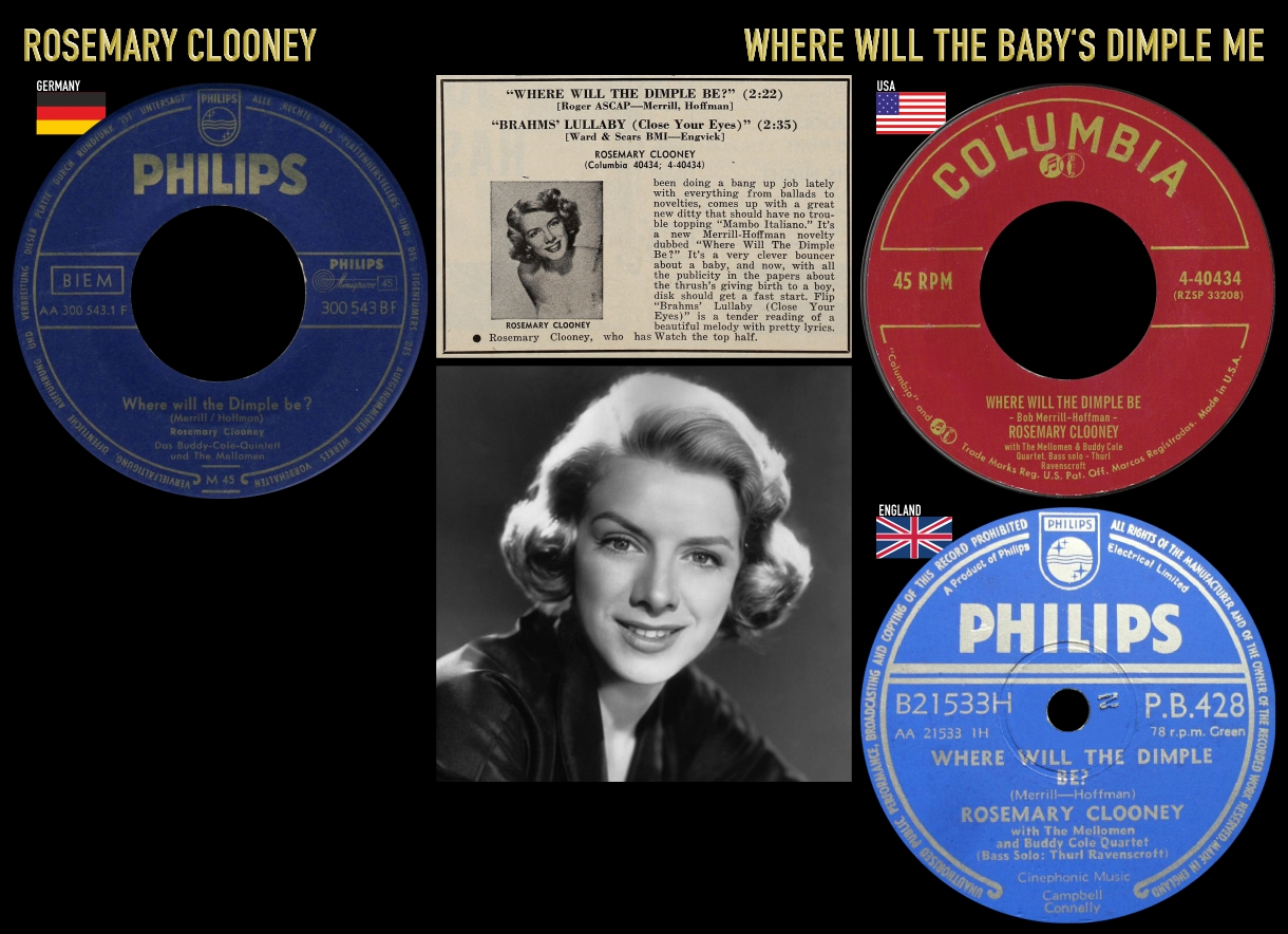 550319_Rosemary Clooney_Where Will The Baby's Dimple Me