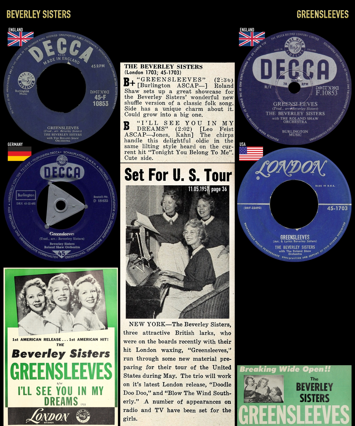 561222_Beverley Sisters_Greensleeves