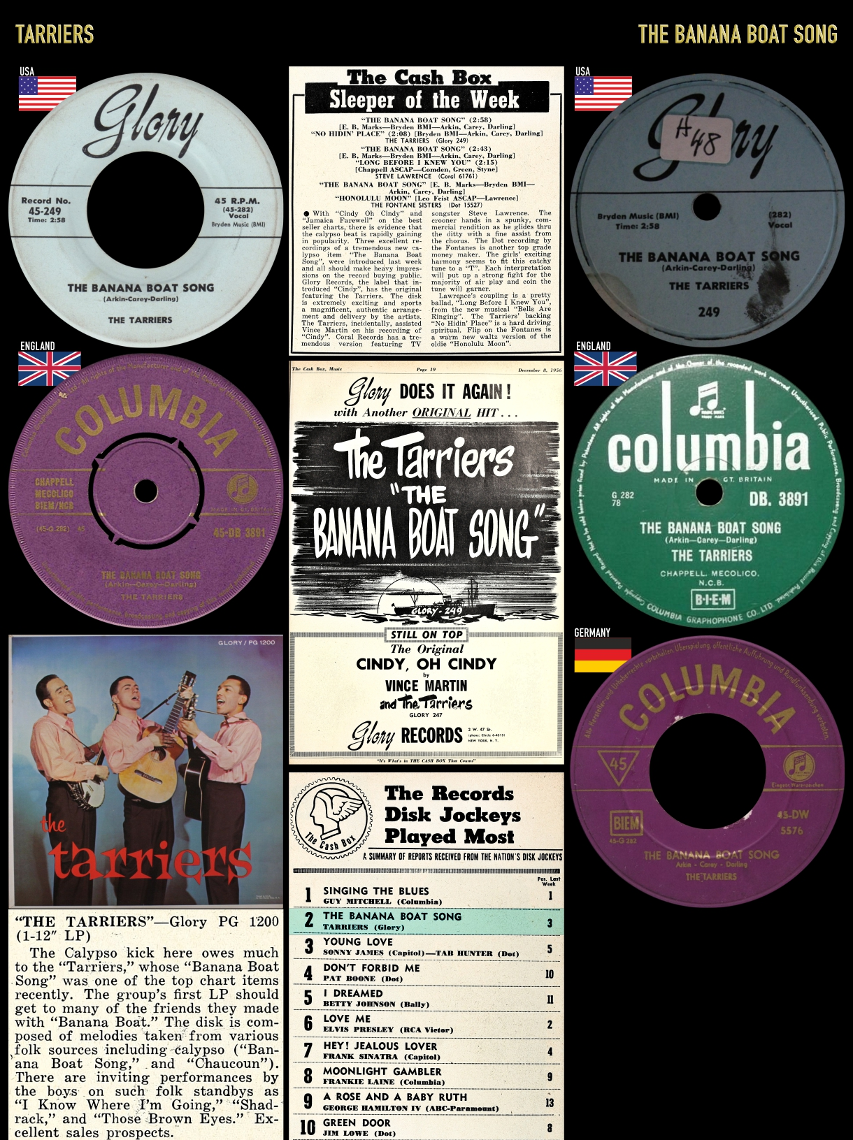 561222_Tarriers_Banana Boat Song