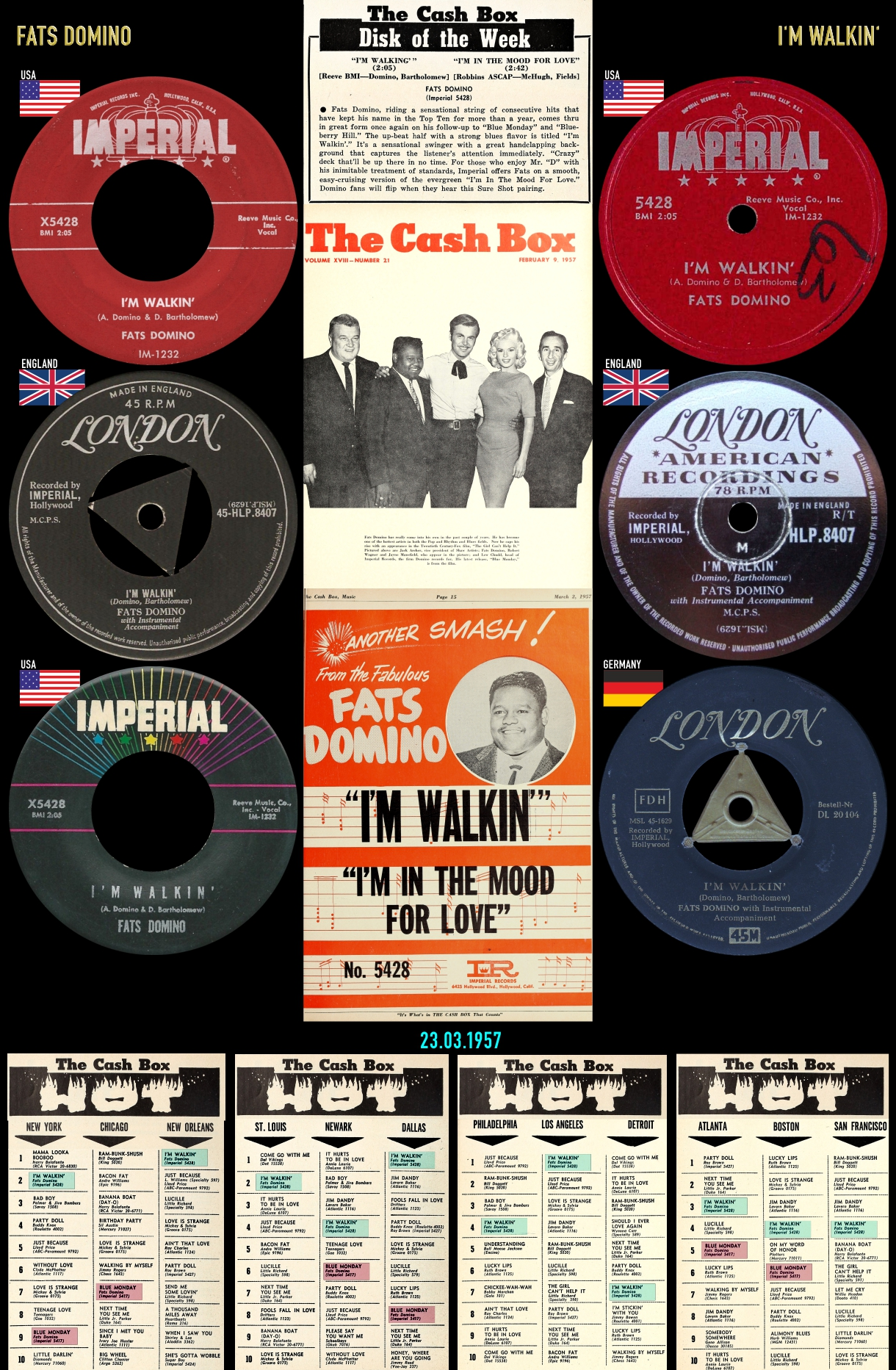 570309_Fats Domino_I'm Walkin'
