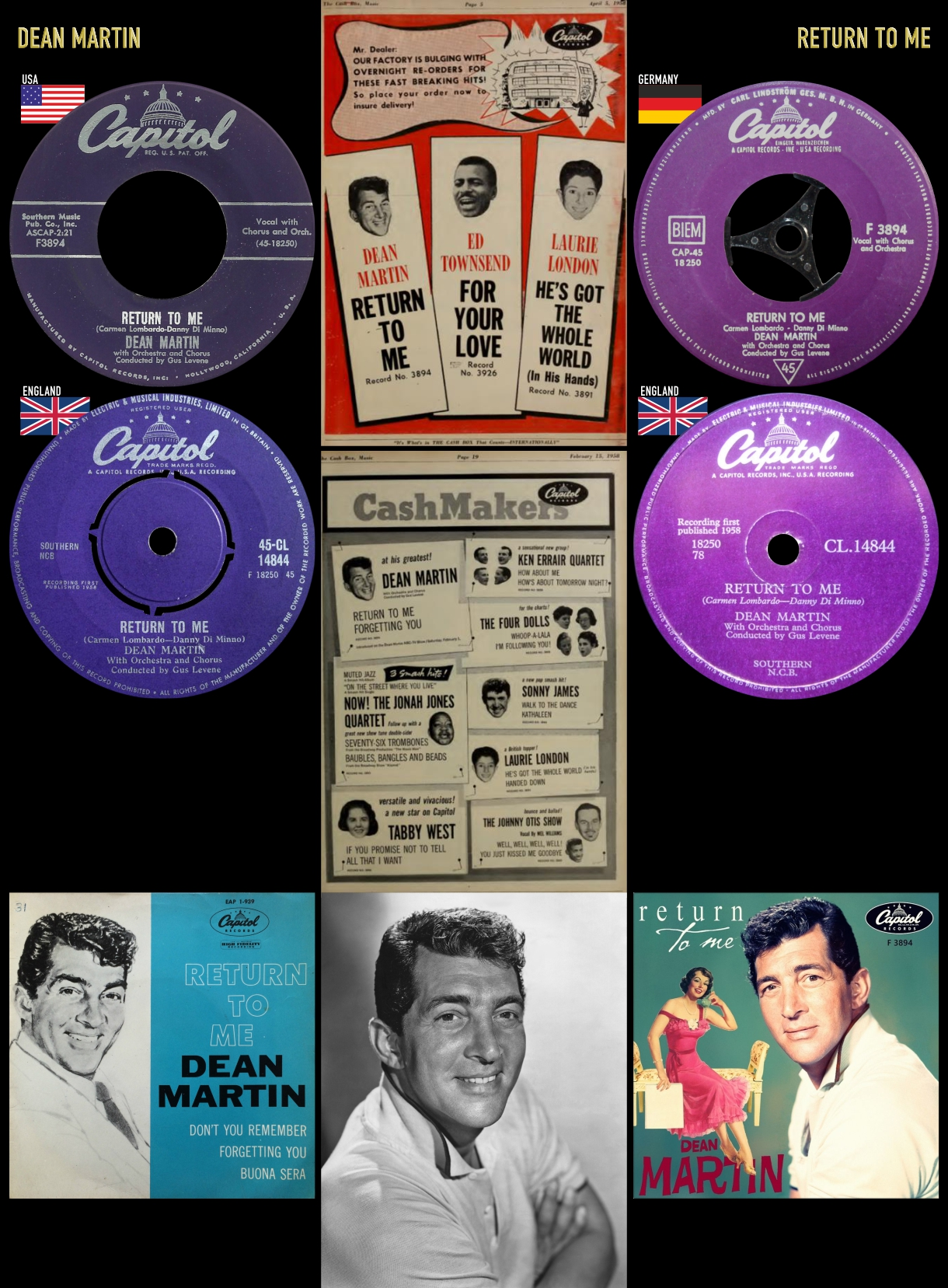 580405_Dean Martin_Return To Me