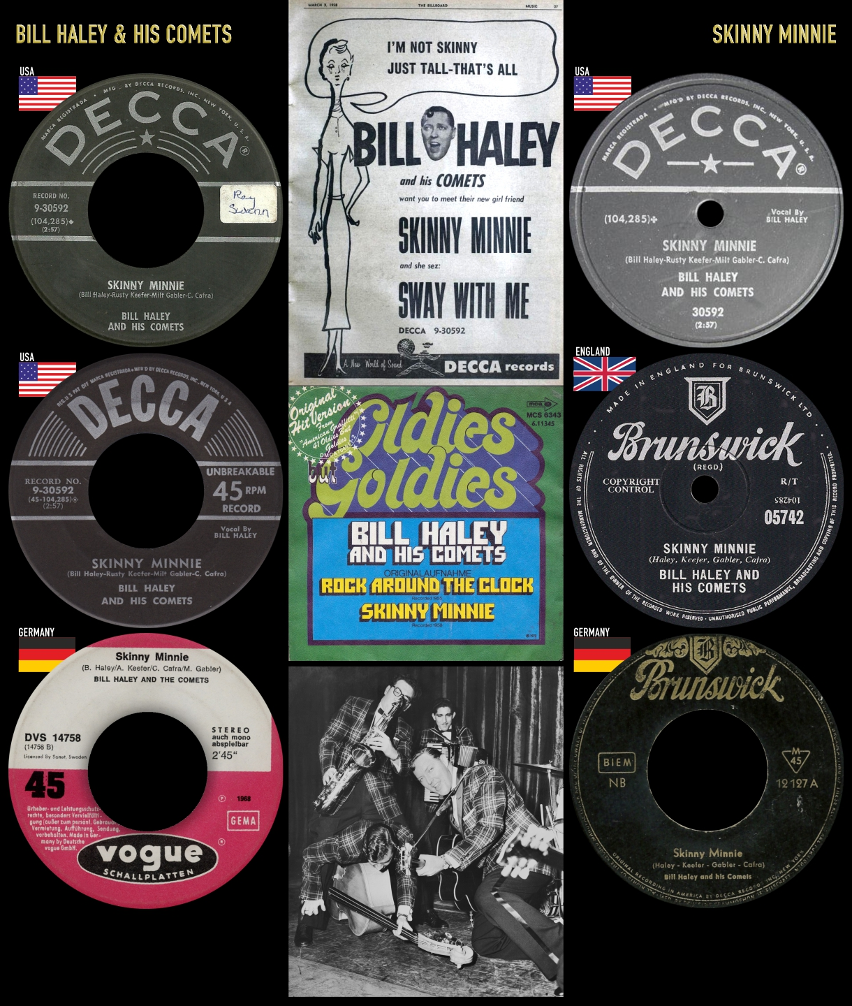 580412_Bill Haley_Skinny Minnie