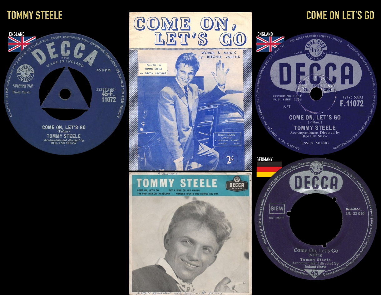 581115_Tommy Steele_Come On Let's Go
