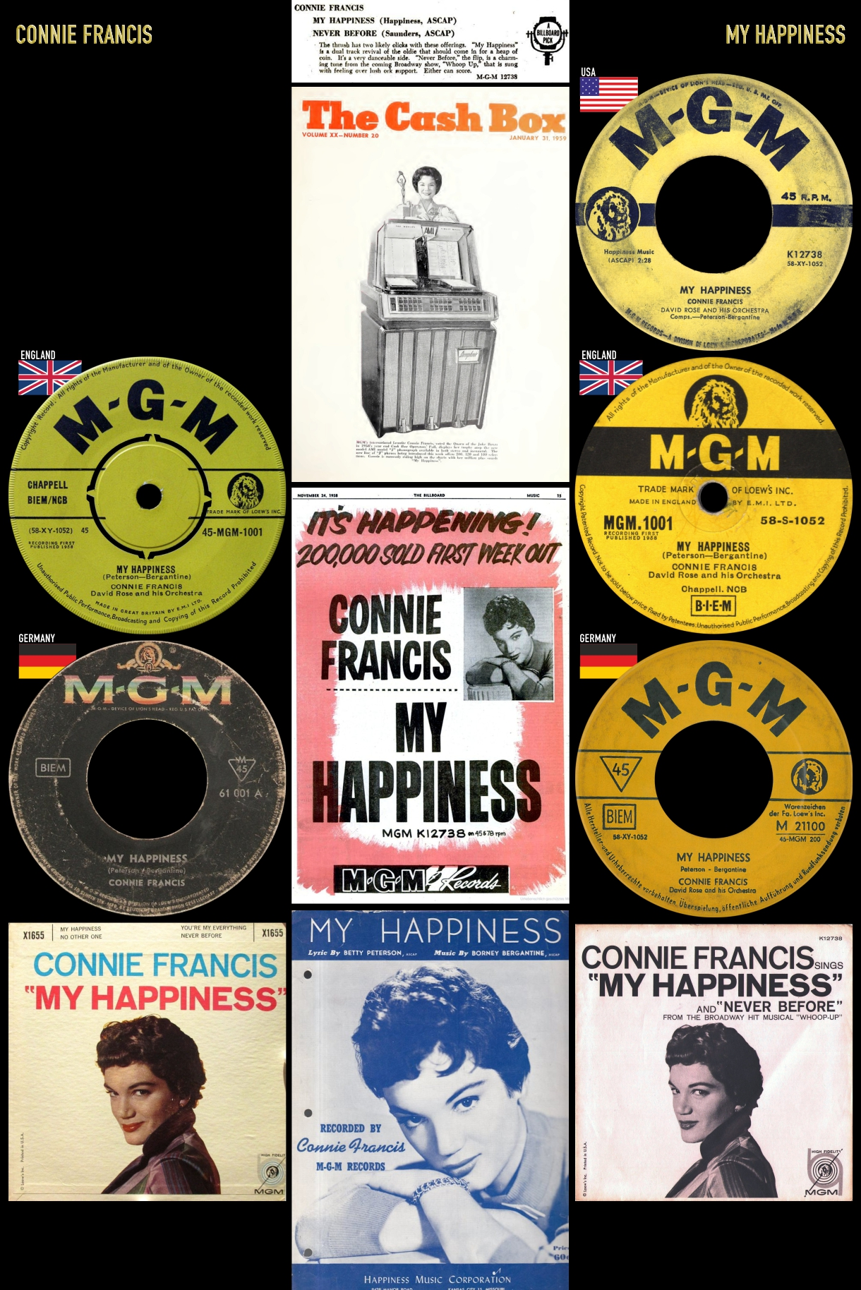581206_Connie Francis_My Happiness