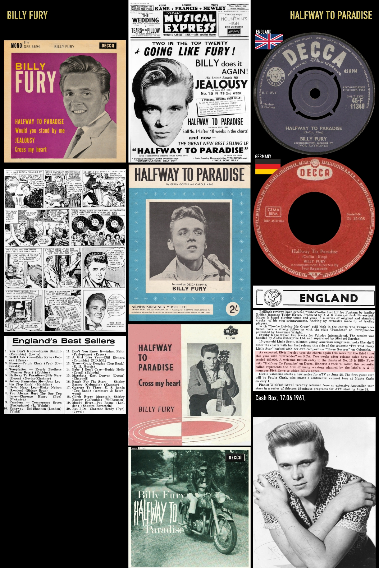 610513_Billy Fury_Halfway To Paradise