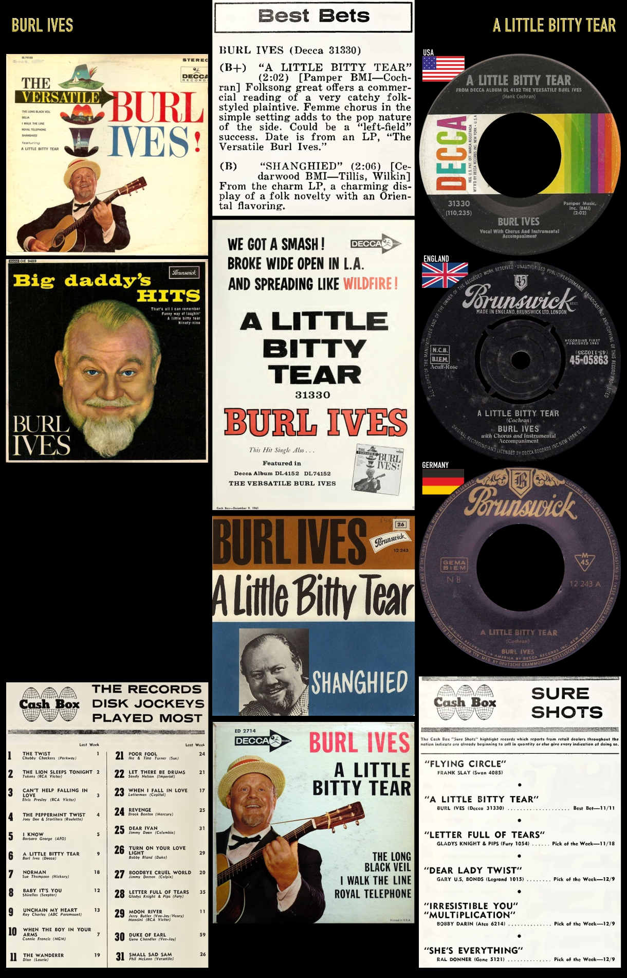 611216_Burl Ives_A Little Bitty Tear
