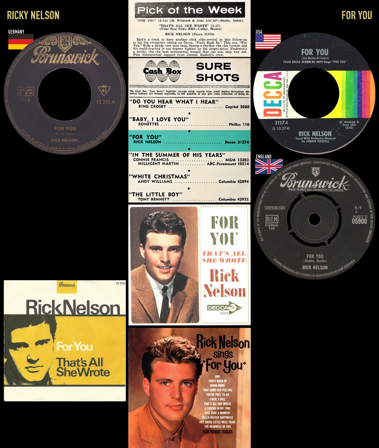 631228_Ricky Nelson_For You