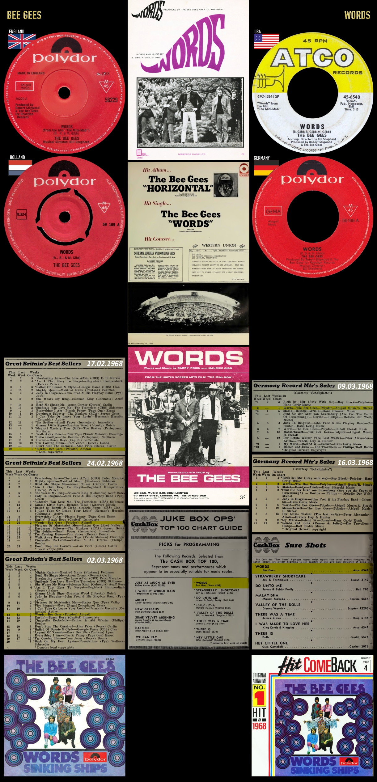 680120_Bee Gees_Words